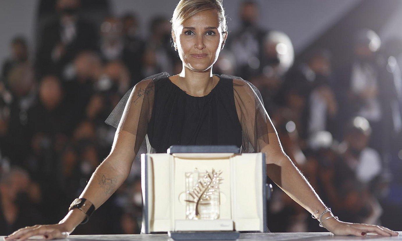 Julia Ducournau zinemagilea, atzo, Cannesen. ©IAN LANGSDON / EFE