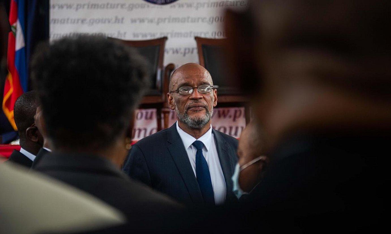 Ariel Henry Haitiko lehen ministroa. ©ORLANDO BARRIA / EFE