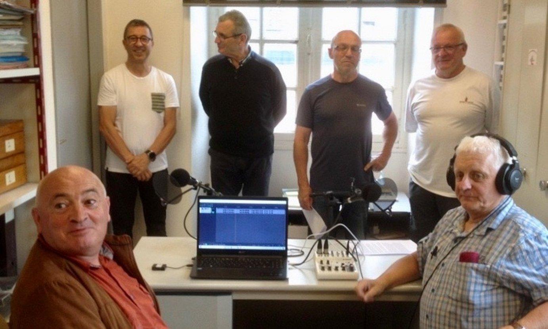 <em>XiberoKazt</em> podcastaren aurkezpena, Maulen. ©AMAIA PATALAGOITI / XIBEROKO BOTZA