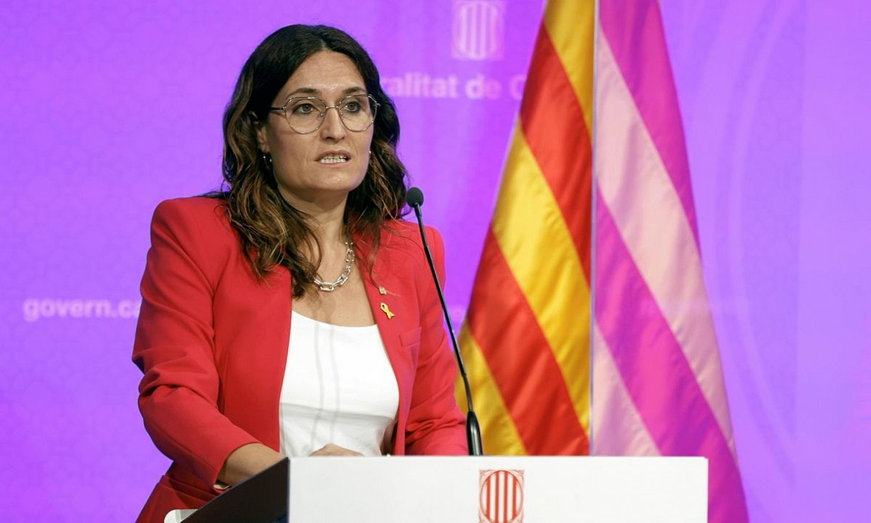 Laura Villagra Kataluniako Generalitateko presidentetzako kontseilaria, artxiboko irudi batean. ©TONI ALBIR / EFE