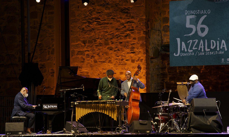 Kenny Barron All Star Quartet, ostiralean, Donostian. ©GORKA RUBIO / FOKU