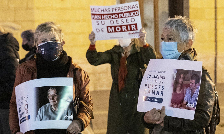 Jakinarazi dute eutanasia bat egin dela lehen aldiz Euskal Herrian