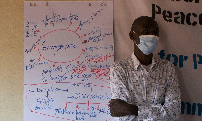 Hego Sudanen herritarrengandik datoz bakerako urratsak