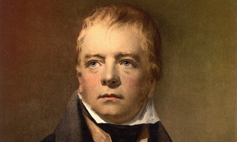 Walter Scott idazlea, 1822ko erretratu batean. ©BERRIA