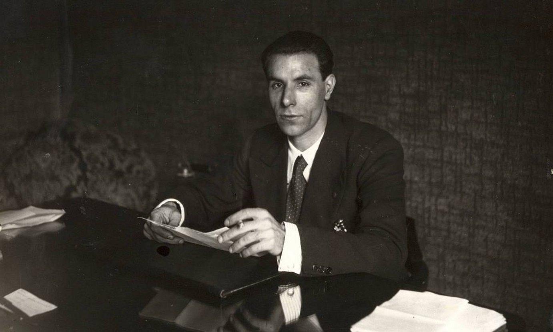 Juan Astigarrabia EPK-ko lehen idazkari nagusia izan zen, 1937an alderditik bota zuten arte. ©BERRIA