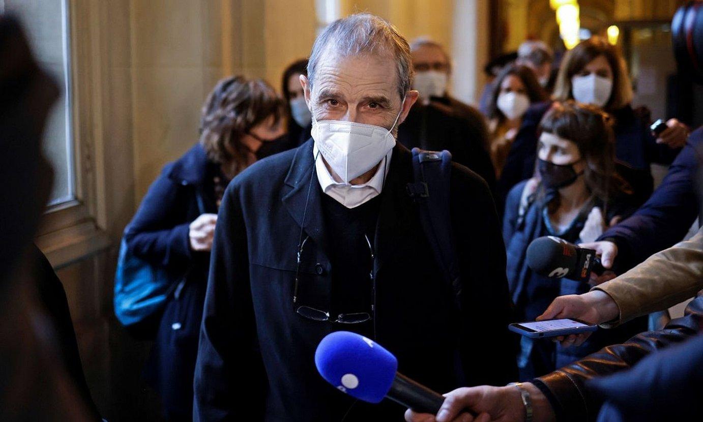 Josu Urrutikoetxea, Parisko Dei Auzitegian, aurtengo otsailean. ©YOAN VALAT / EFE