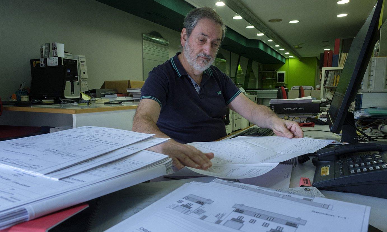 Javier Telleria, arkitektoa. ©JON URBE / FOKU