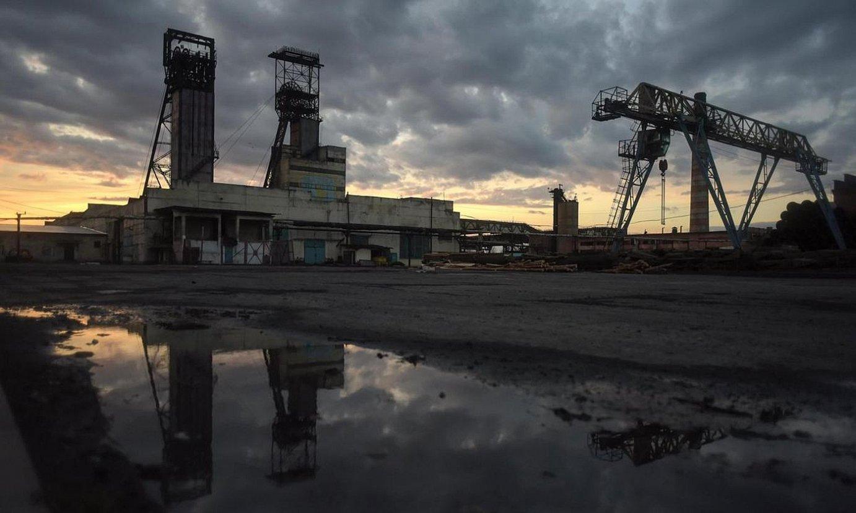 Stepovako ikatz meategia, Ukrainan. Adituek ohartarazi dute erregai fosilen ustiaketan isurtzen dela metano gas gehien. ©MARKIIAN LYSEIKO / EFE