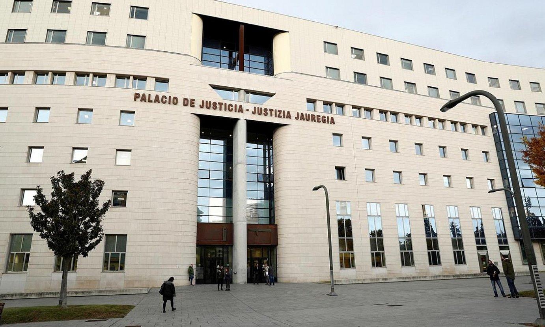 Nafarroako Justizia jauregia. ©VILLAR LOPEZ / EFE