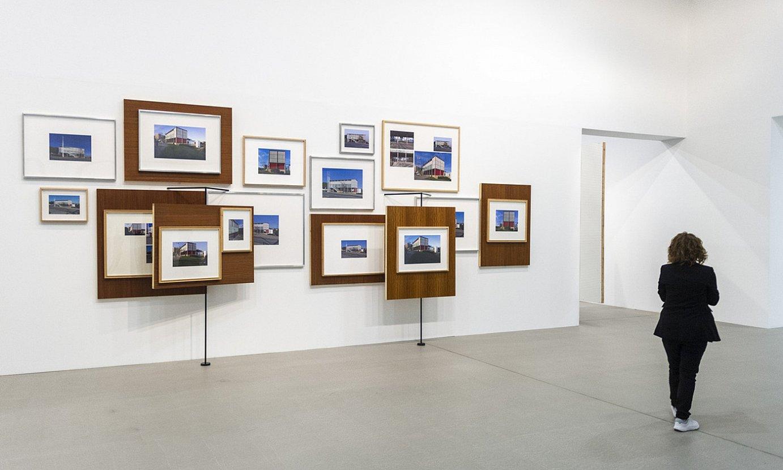 Xabier Salaberria artistaren lanak, Gasteizko erakusketan. ©JAIZKI FONTANEDA / FOKU