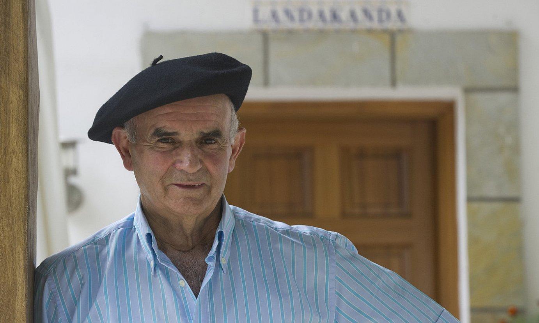 Ramon Zubizarreta <em>Landakanda</em>, 2012an. ©ANDONI CANELLADA / FOKU