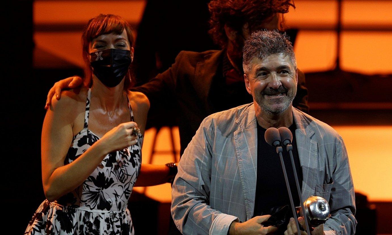 Demode Produkzioak-eko Joli Pascualena eta Patxi Barco. ©LUIS TEJIDO / EFE
