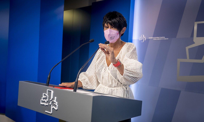 EH Bilduko eledun Maddalen Iriarte, legebiltzarrean. ©JAIZKI FONTANEDA / FOKU