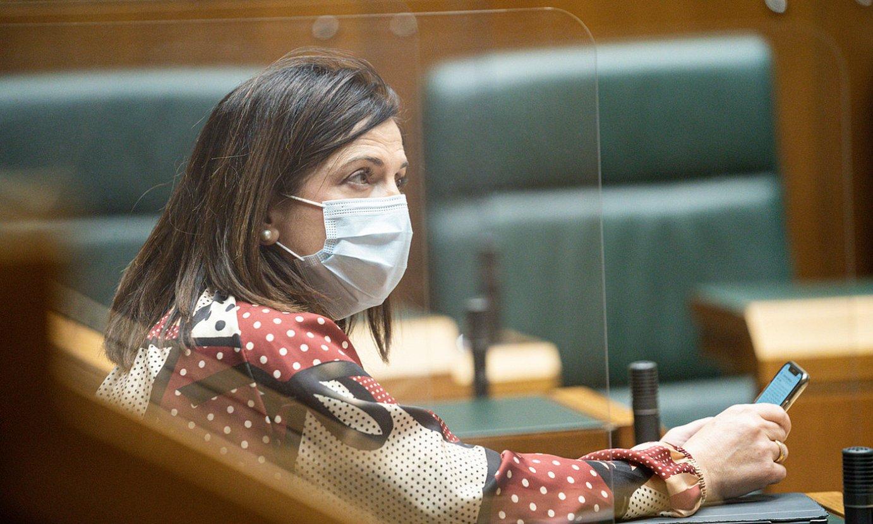 Beatriz Artolazabal Eusko Jaurlaritzako Berdintasun, Justizia eta Gizarte Politiketarako sailburua. ©ENDIKA PORTILLO / FOKU