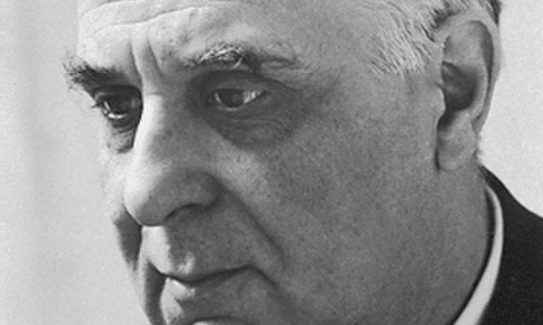 Giorgos Seferis idazle greziarrak 1963. urtean irabazi zuen Literaturako Nobel saria. ©NOBEL FUNDAZIOA