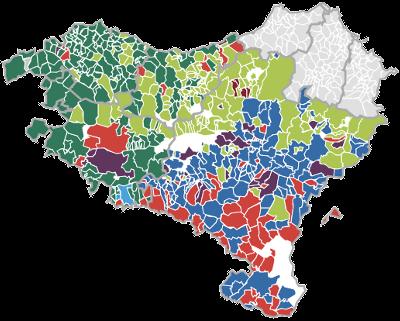 Emaitzen mapa interaktiboak
