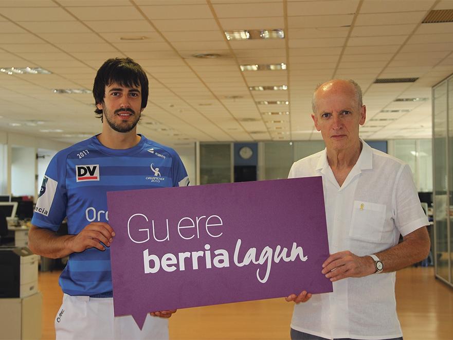 BERRIAlagun komunitatearekin bat egin du Oriamendi2010 erremonte enpresak.