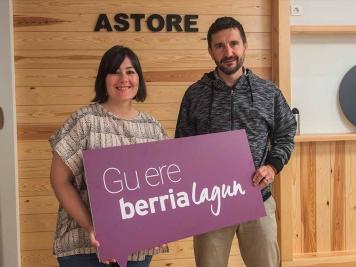 Astore, BERRIAlagunen komunitateko kide berria