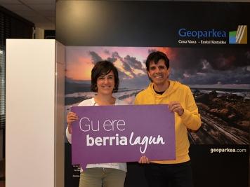 Geoparkea, BERRIAlagunen komunitateko kide berria.