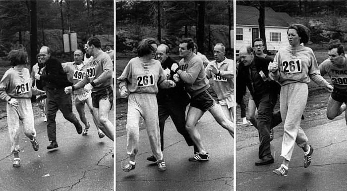 Kathrine Switzer, lehen emakumea maratoi batean