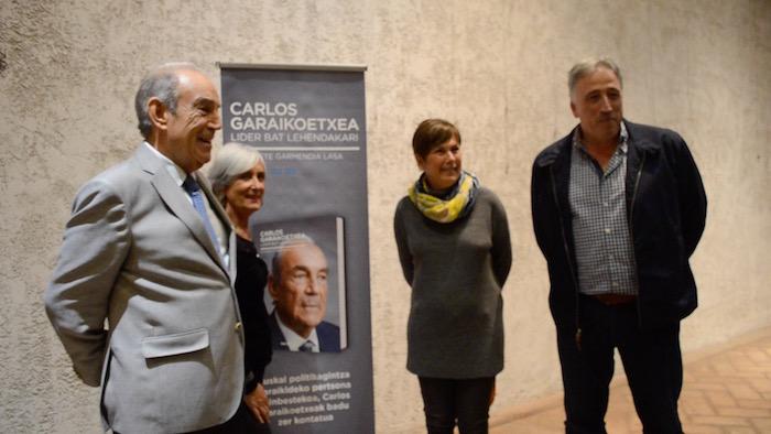 'Carlos Garaikoetxea. Lider bat lehendakari'  liburuaren aurkezpena