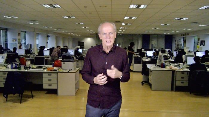 Carles Puigdemonten elkarrizketari buruzko iruzkina