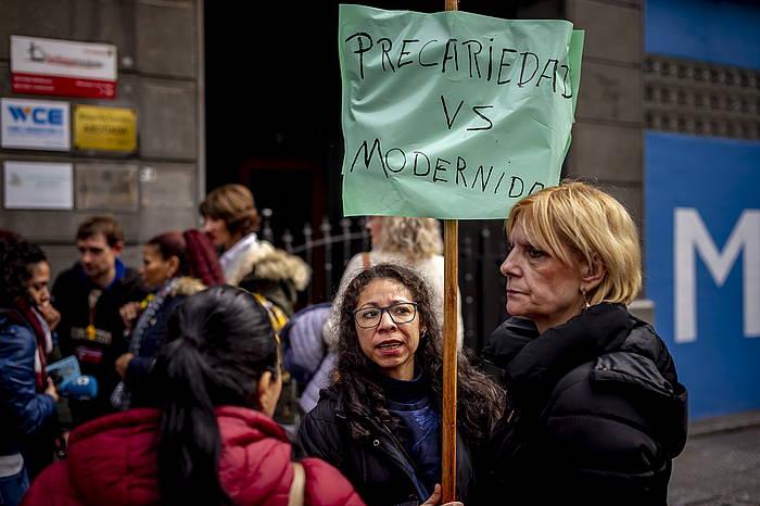 Kellyen protesta, NH eta Barcelo hoteletan