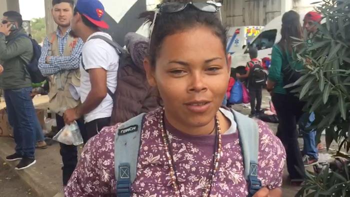 Leiri Tesenia migratzailearen hitzak