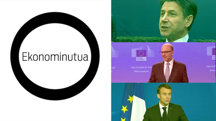 Ekonominutua: Frantziaren eta Italiaren defizita
