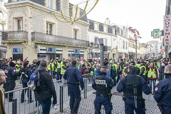 Protestak Miarritzen