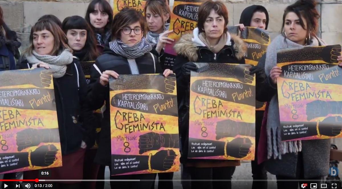 Greba feministarako deialdia