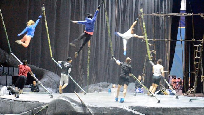 Cirque du Soleil-ren 'Toruk' ikuskizuna