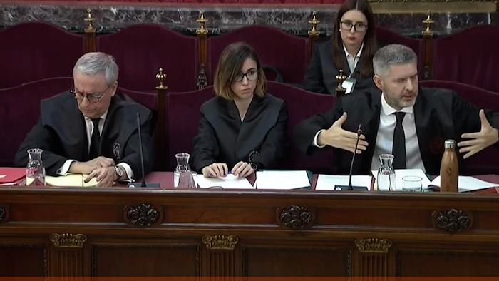 Kataluniako prozesu subiranistari epaiketa: Van den Eynde abokatua
