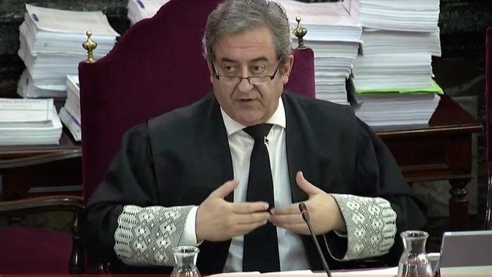 Kataluniako prozesu subiranistari epaiketa: Javier Zaragoza fiskala