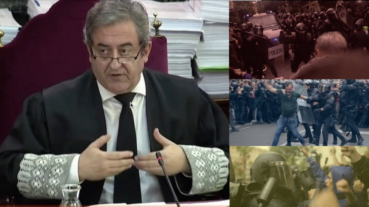Javier Zaragoza fiskala urriaren 1eko indarkeriaz