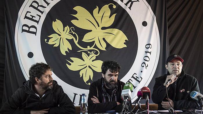 Berri Txarrak-en 'Ikusi Arte Tour' biraren aurkezpena