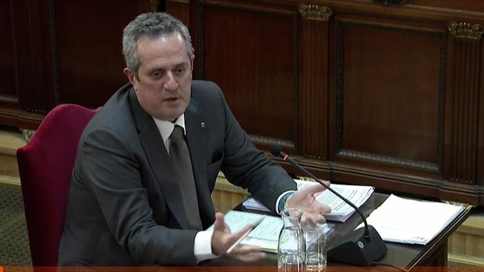 Kataluniako prozesu subiranistari epaiketa: Joaquim Forn auzipetua