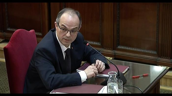 Kataluniako prozesu subiranistari epaiketa: Jordi Turull auzipetua II