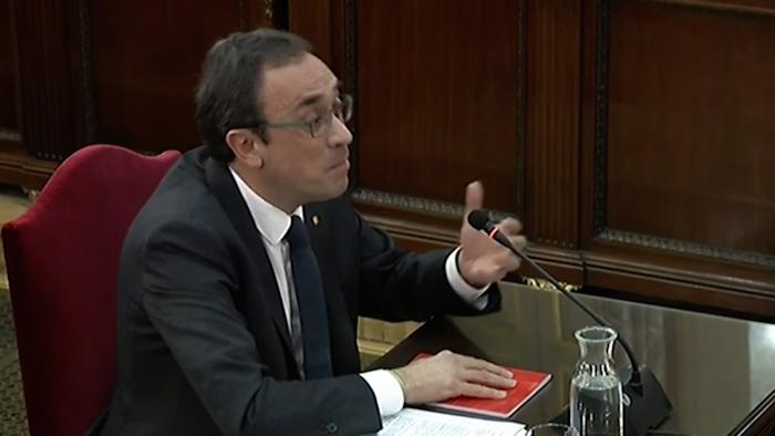 Kataluniako prozesu subiranistari epaiketa: Josep Rull auzipetua