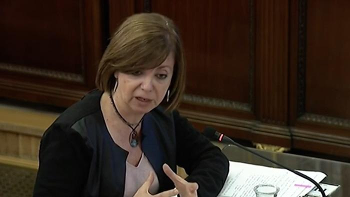 Kataluniako prozesu subiranistari epaiketa: Meritxell Borras auzipetua