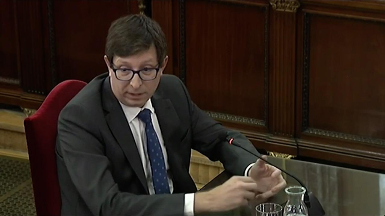 Kataluniako prozesu subiranistari epaiketa: Carles Mundo auzipetua