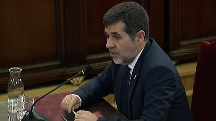 Kataluniako prozesu subiranistari epaiketa: Jordi Sanchez auzipetua
