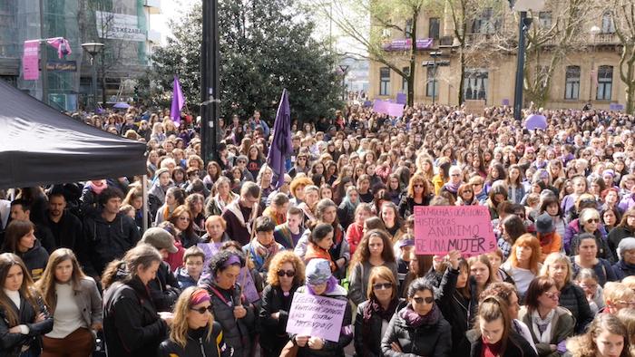 Greba feminista: Goizaren laburpena