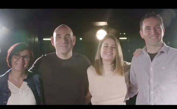 Euskaldunako ekitaldirako spota