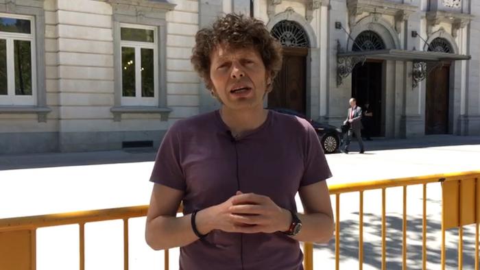 Igor Susaeta Madriletik, Kataluniako prozesu subiranistaren aurkako epaiketaren azken egunean