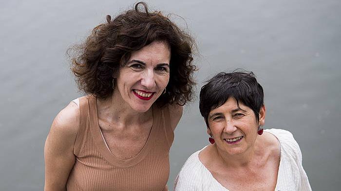 Ahomentan: Mertxe Mugika eta Elena Laka