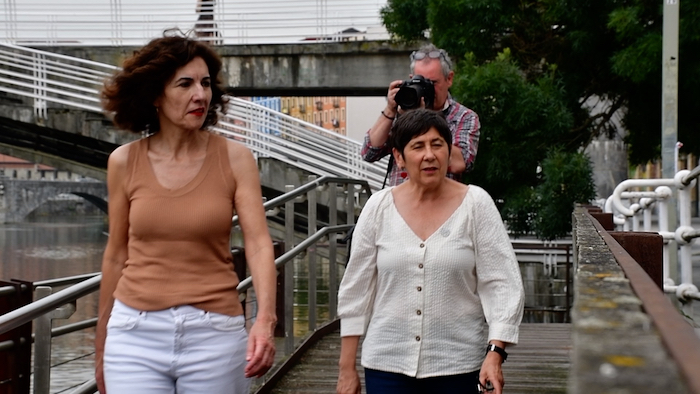 Ahomentan: Mertxe Mugika eta Elena Laka (2. zatia)