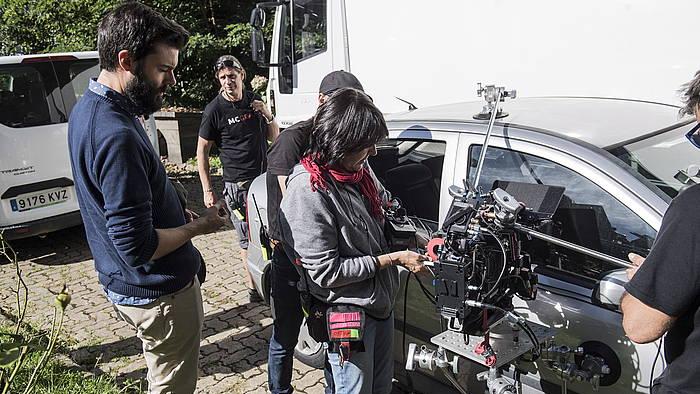 'Hil kanpaiak' pelikularen filmazioa