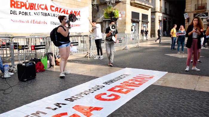 Kataluniaren auziaren epaia: Herritarren lehen erreakzioak