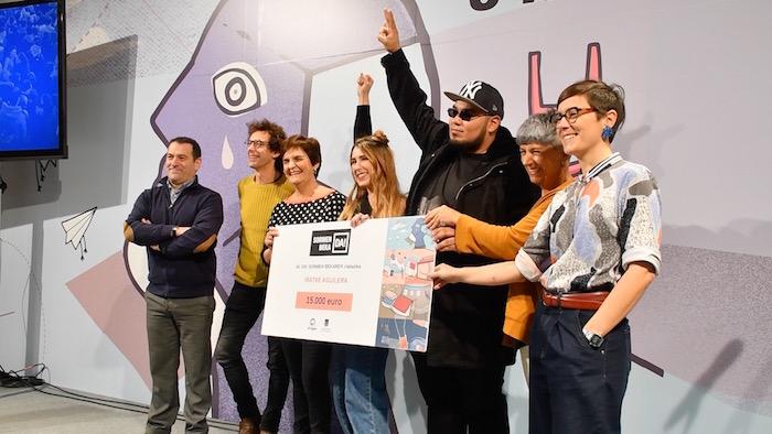 Iratxe Aguilera musikagileak irabazi du Durangoko Azokako Sormen beka